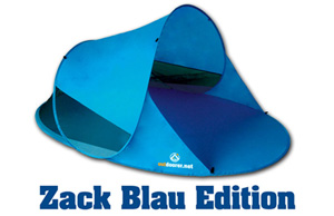 zackII blau 300x300 Pop up Sonnenzelt Zack II