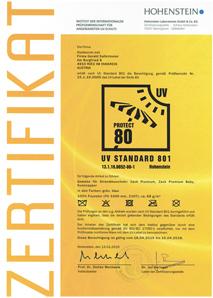 UV80Zertifikat Scan Bild 214x300 Windzelt mit Sonnenschutz