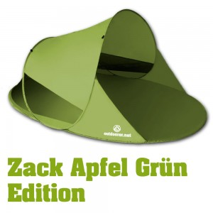 zackII gruen 300x300 Pop up Sonnenzelt Zack II